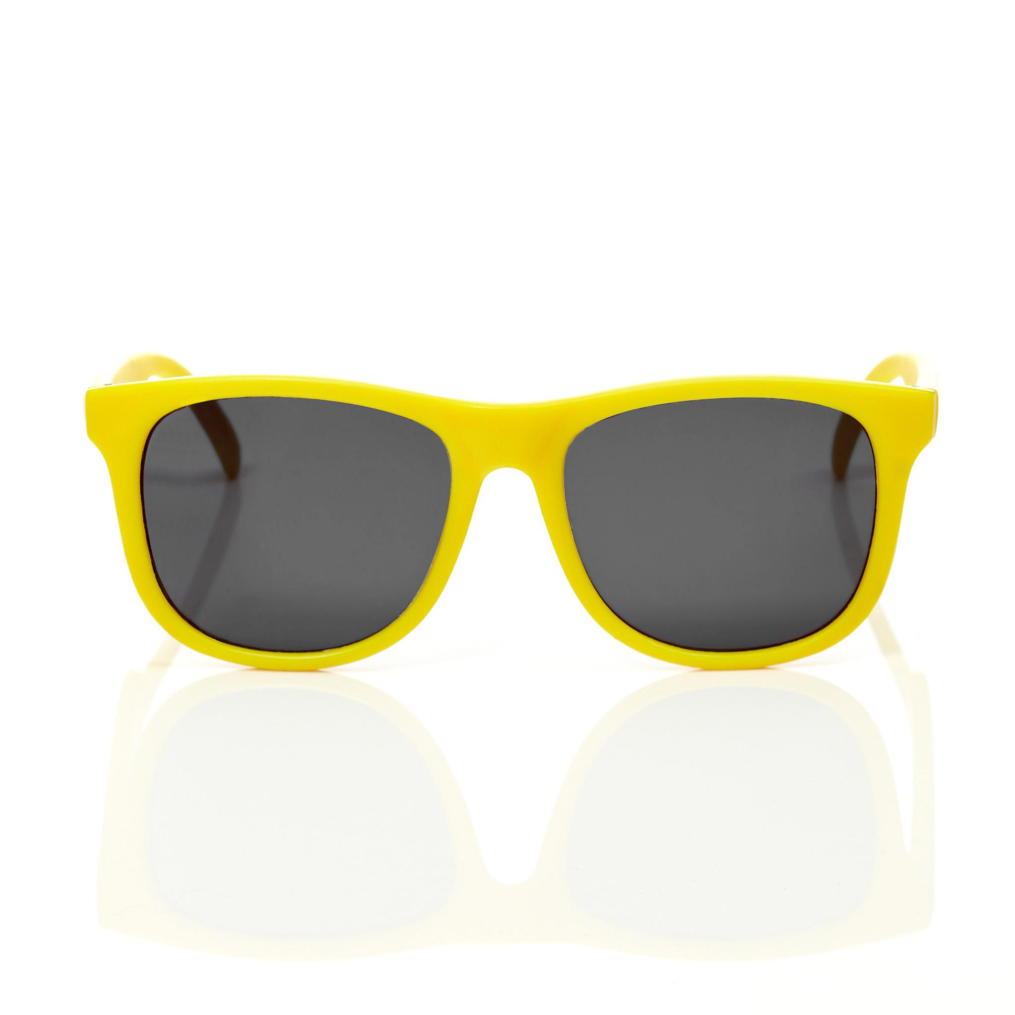 Mustachifier Yellow Sunglasses Age 3-6 แว่นกันแดดเด็กสีเหลือง สำเนา