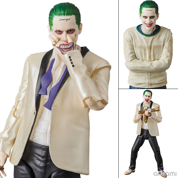 """MAFEX No.039 MAFEX - THE JOKER (SUITS Ver.) """"SUICIDE SQUAD""""(Pre-order)"""