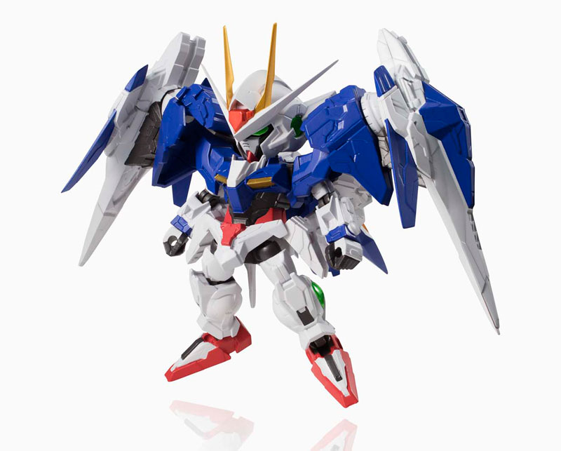 "NXEDGE STYLE [MS UNIT] 00 Gundam & 0 Raiser Set ""Mobile Suit Gundam 00""(Preorder)"