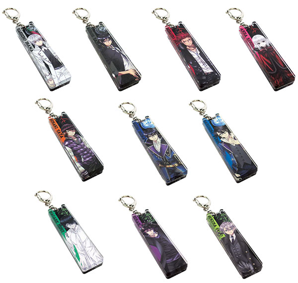 K RETURN OF KINGS - Acrylic Stick Keychain 10Pack BOX(Pre-order)