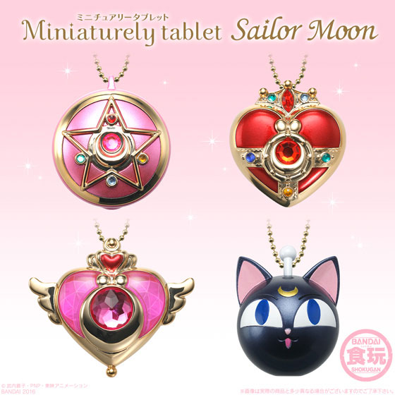 Miniaturely Tablet Sailor Moon 10Pack BOX (CANDY TOY, Tentative Name)(Pre-order)