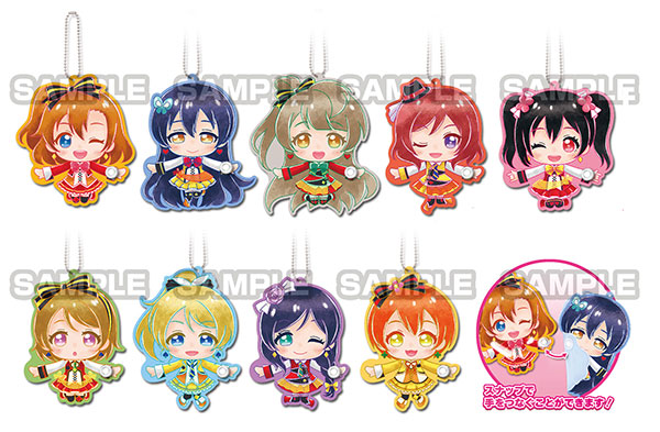 Love Live! - Mu's Te-tsunagi Deformed Keychain vol.2 10Pack BOX(Pre-order)