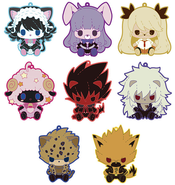 Pulish - SHOW BY ROCK!! Trading Rubber Strap 8Pack BOX(Pre-order)