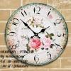 นาฬิกาวินเทจ แบบแขวนผนัง ทำจากไม้ MDF - รหัสสินค้า VTD019