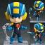 Nendoroid - Mega Man Battle Network: Mega Man.EXA Super Movable Edition(Pre-order) thumbnail 1
