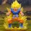 Dracap Memorial 02 Dragon Ball Super - Super Saiyan Son Goku Complete Figure(Pre-order) thumbnail 2