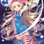 "Touhou Nami no Amamiya - Wall Scroll ""Crownpiece"" -illust Absole-(Pre-order) thumbnail 1"