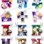 Osomatsu-san - Hitomoji Keychain 12Pack BOX(Pre-order) thumbnail 1