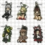 Eformed Bungo Stray Dogs - Buranko Rubber Mascot Strap 6Pack BOX(Pre-order) thumbnail 1