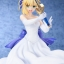Fate/staynight [Unlimited Blade Works] - Saber White Dress Ver. 1/8 Complete Figure(Pre-order) thumbnail 16