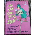 Oh Say Can You Say? หนังสือหัดอ่านสำหรับเด็กเล็ก