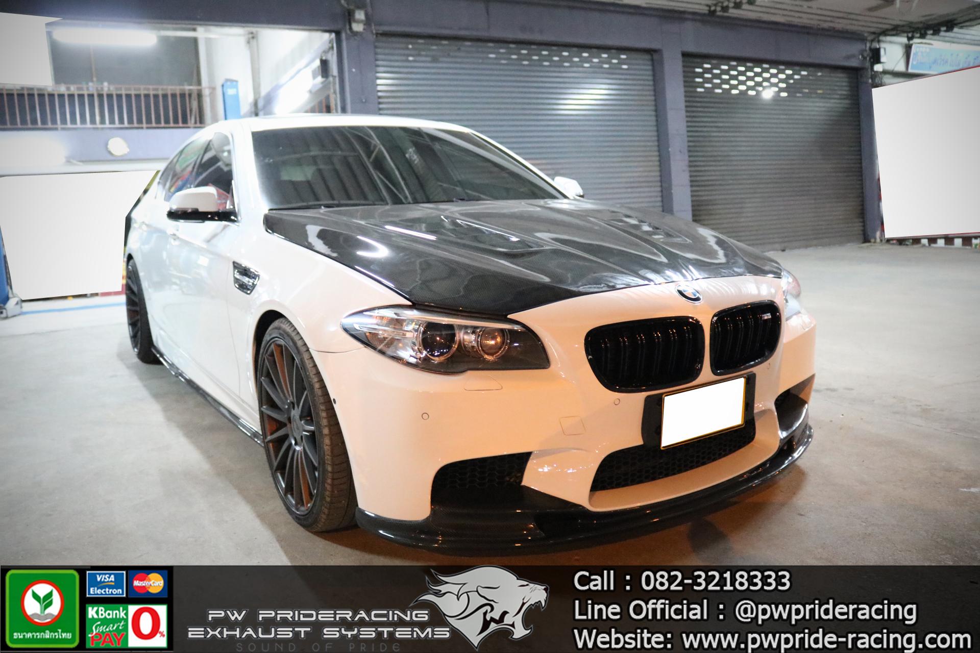ชุดท่อไอเสีย BMW F10 528i Full Exhaust Systems by PW PrideRacing