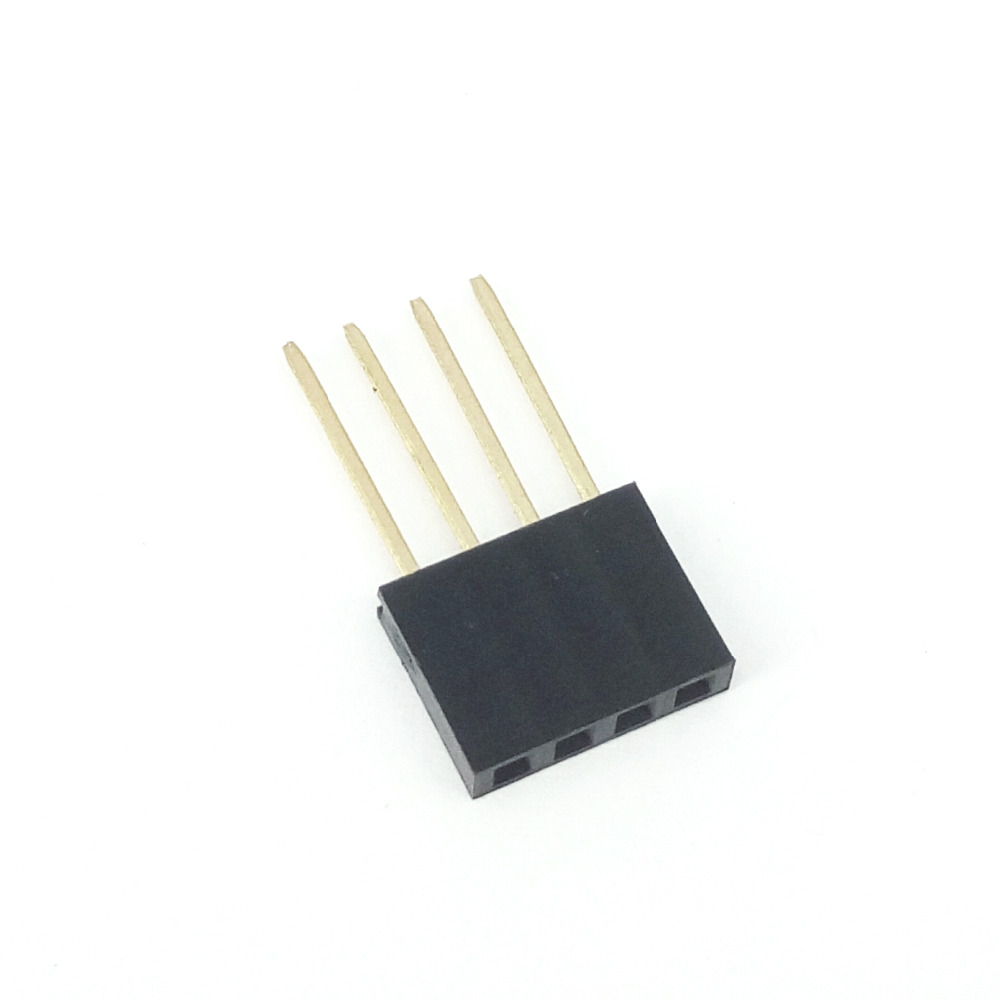female header 2.54MM 4Pin 11MM