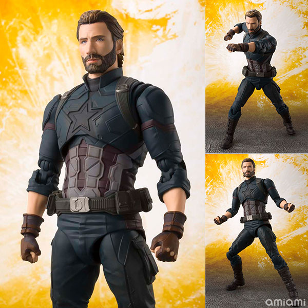 S.H. Figuarts - Captain America (Avengers: Infinity War)(Pre-order)