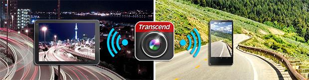Transcend DrivePro 200 มี Wifi