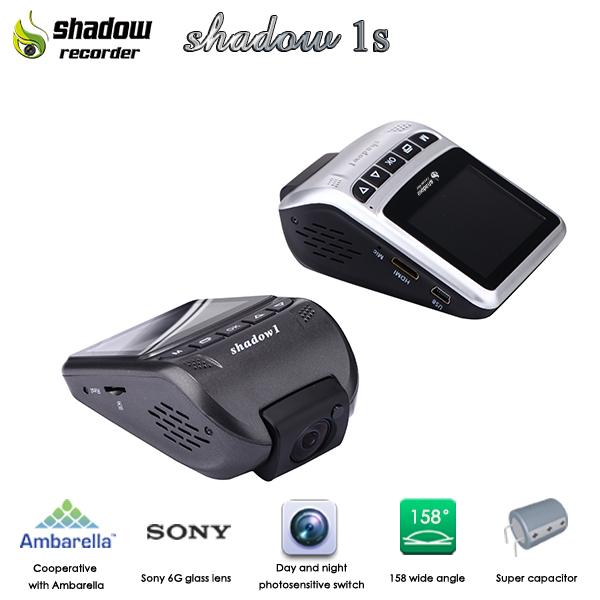 กล้องติดรถยนต์ Shadow 1s(capacitor)