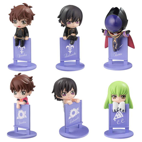Ochatomo Series - Code Geass: Lelouch of the Rebellion: Ii Darou, Noru zo! Sono Koppu! 8Pack BOX(Pre-order)