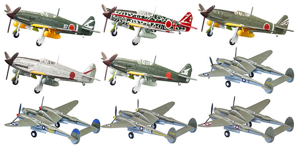 1/144 Wing Kit Collection VS3 10Pack BOX (CANDY TOY)(Pre-order)