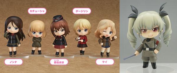 Nendoroid Petite - Girls und Panzer Other High Schools Ver. 6Pack BOX(Pre-order)