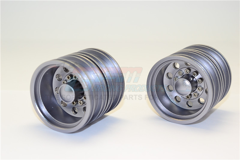 ALLOY REAR WHEEL (10HOLES) - 2PRS (FOR 1850L /KING HAULER /GLOBE LINER /1838LS /FORD AEROMAX /SCANIA R620)