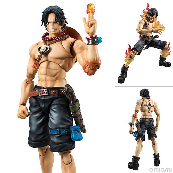 "Variable Action Heroes DX - ""ONE PIECE"" Portrait.Of.Pirates x VAH: Portgas D. Ace 1/8 Action Figure(Pre-order)"
