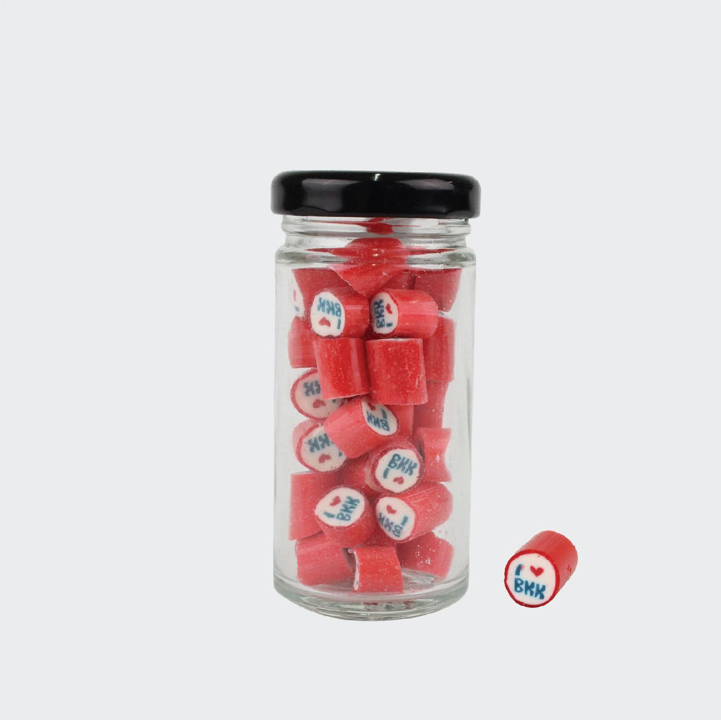 Tall Jar of Red I Lover BKK (50g. Jar)