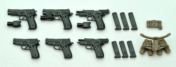 LittleArmory LA007 1/12 P226 Type & P228 Type Plastic Model(Pre-order)