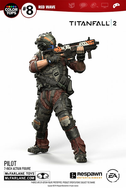 Color Tops Red Wave - Titanfall 2: Jack Cooper 7 Inch Action Figure(Provisional Pre-order)
