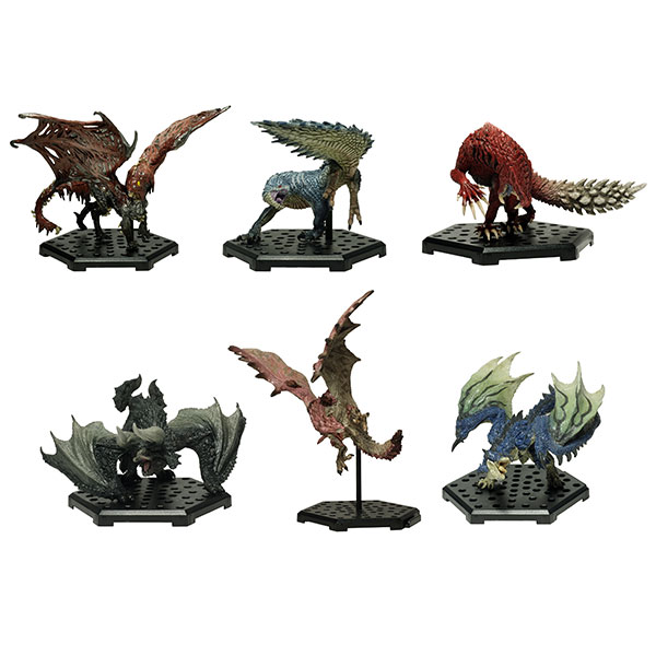 Capcom Figure Builder - Monster Hunter: Standard Model Plus Vol.11 6Pack BOX(Pre-order)