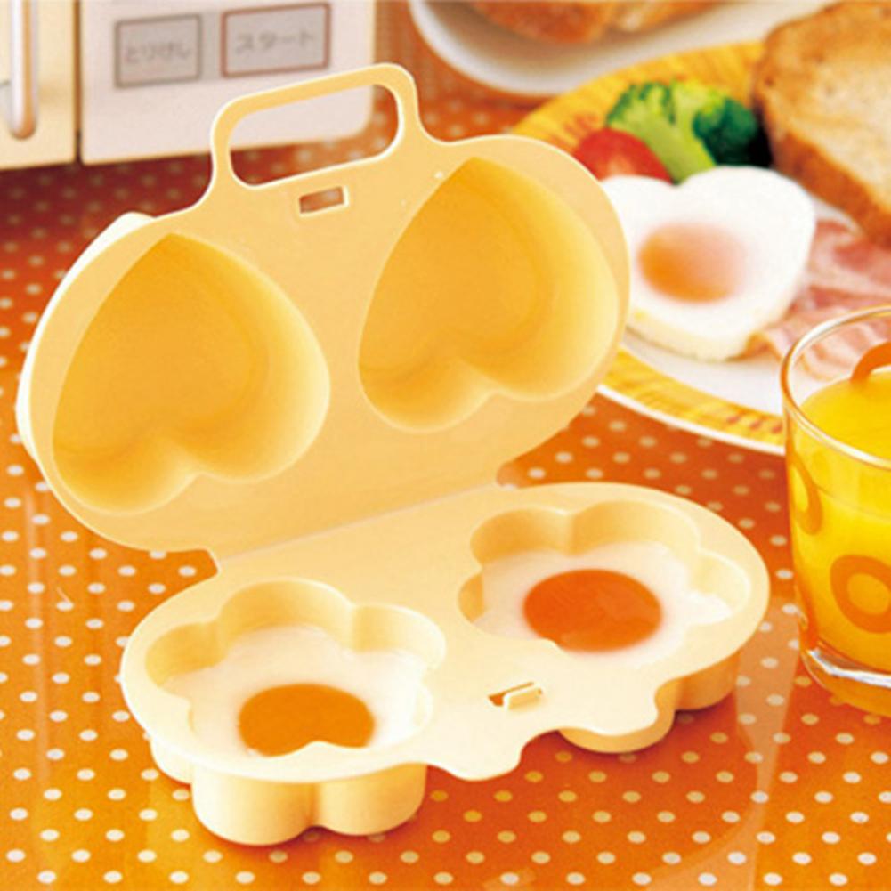พิมพ์ไข่ไมโครเวฟ ดอกไม้ หัวใจ