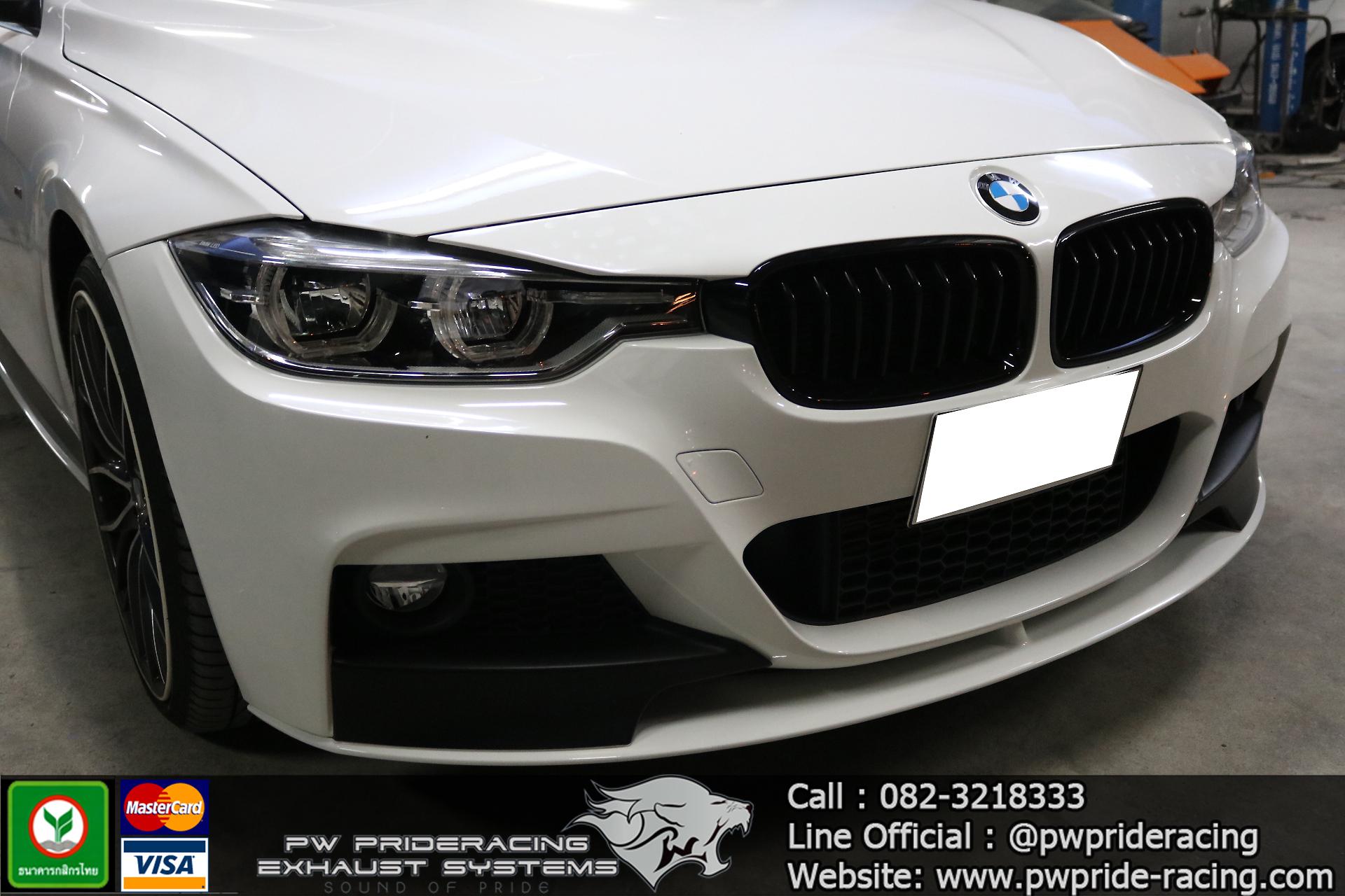 ชุดท่อไอเสีย BMW F30 320D by PW PrideRacing