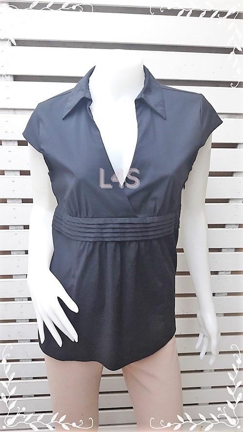 เสื้อแฟชั่น นำเข้า แบรนด์ สีดำ OLD NAVY อก 35-36 นิ้ว