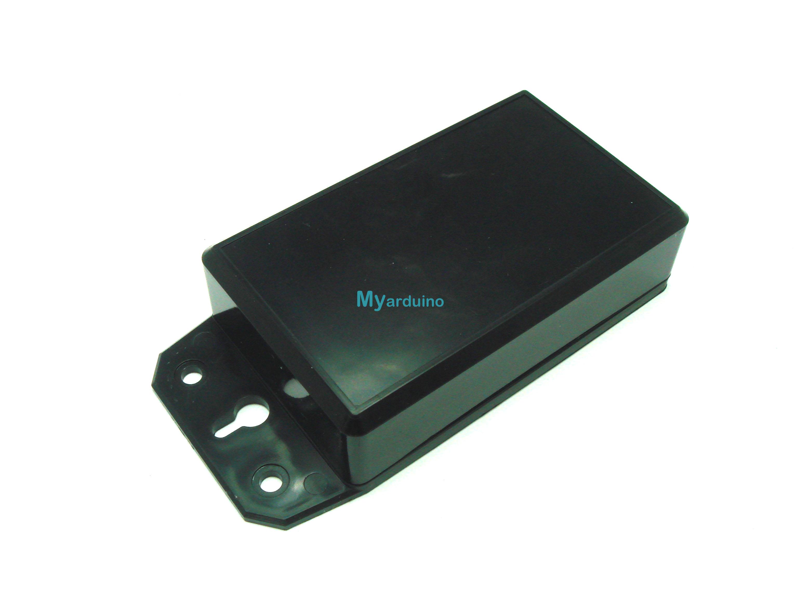กล่องอิเล็กทรอนิกส์ อเนกประสงค์ สีดำ 100*60*27mm