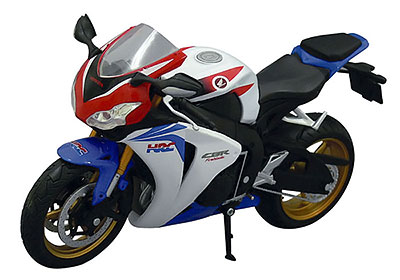 1/12 Complete Motorcycle Model Honda CBR 1000RR (Tri-Color)(Back-order)