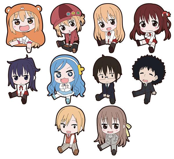 Himouto! Umaru-chan - Petanko Trading Rubber Strap 10Pack BOX(Pre-order)