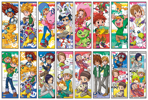 Digimon Adventure Series - Chara Pos Collection 8Pack BOX(Pre-order)