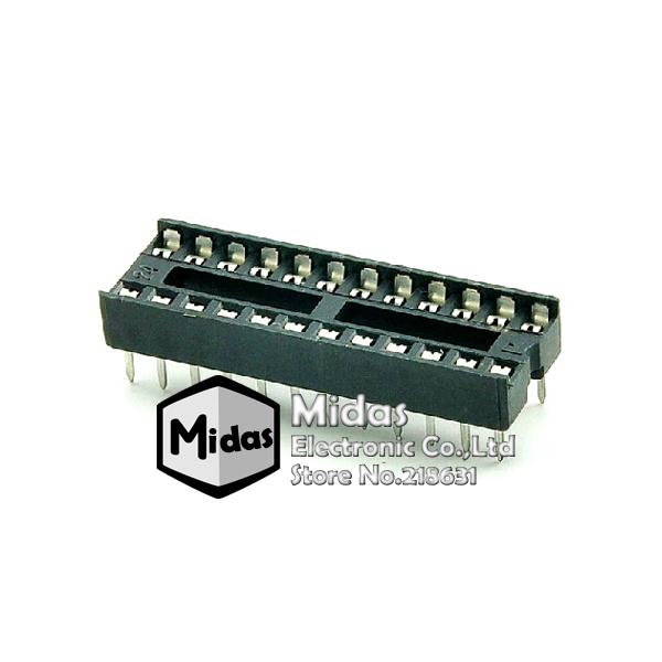 ซ็อคเกต socket 24 Pin DIP SIP IC Sockets