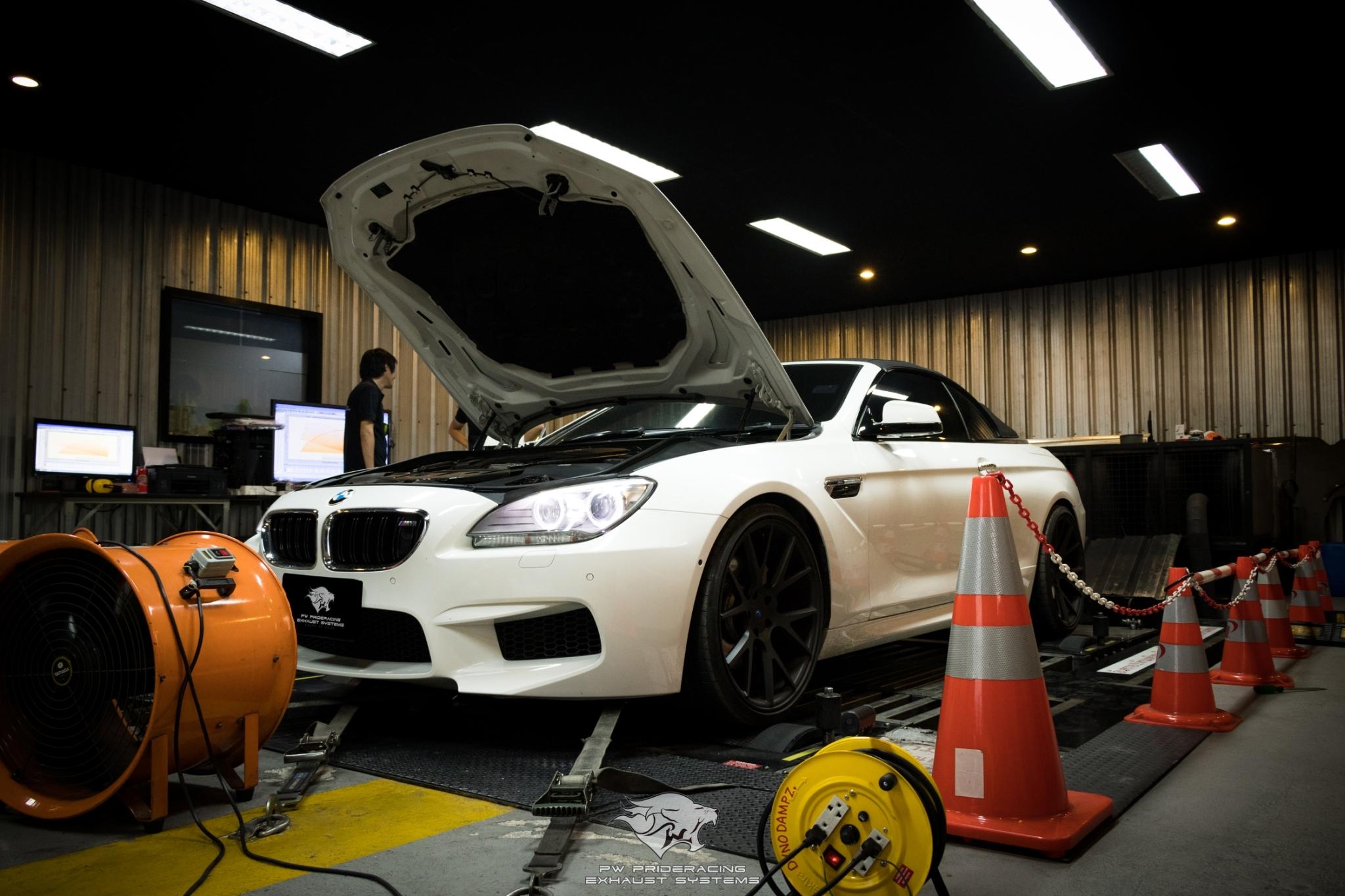ชุดท่อไอเสีย BMW F12 640i by PW PrideRacing