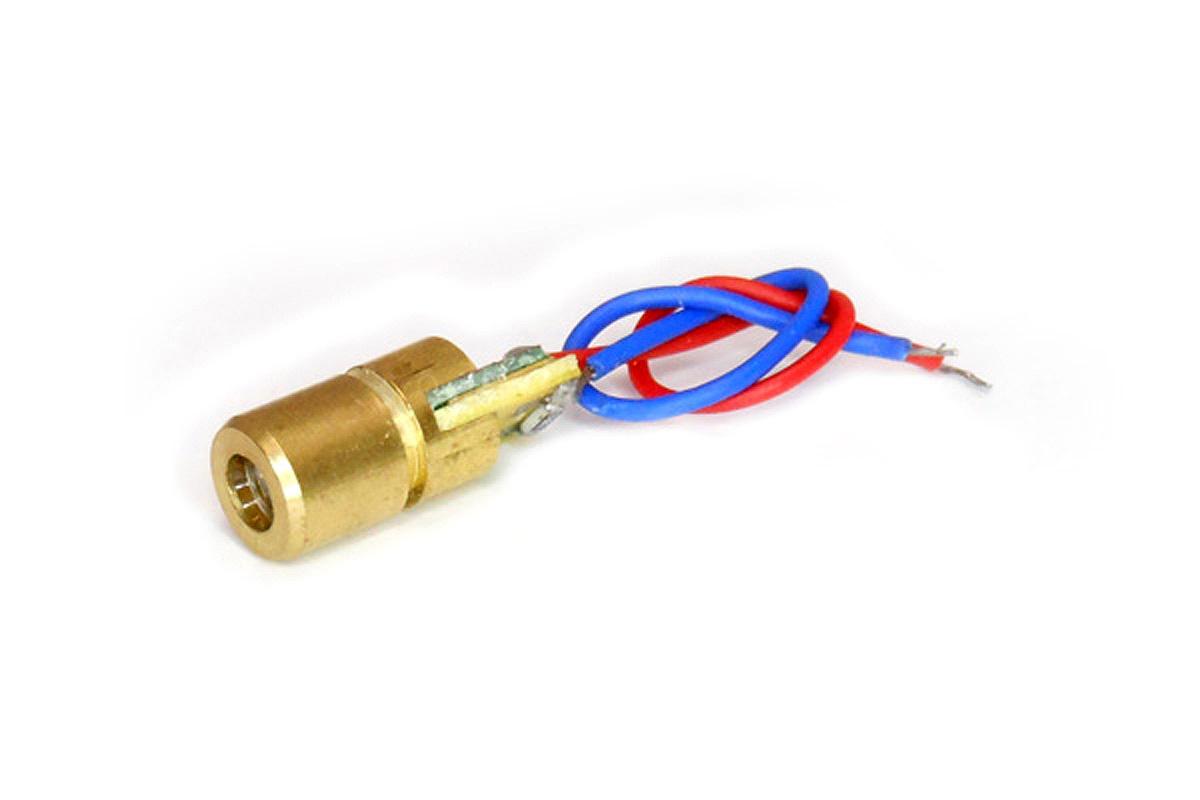 เลเซอร์ 5V laser แบบจุด สำหรับ Arduino