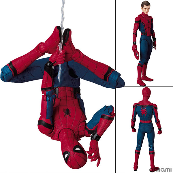 "MAFEX No.047 MAFEX SPIDER-MAN (HOMECOMING Ver.) from ""Spider-Man: Homecoming""(Pre-order)"