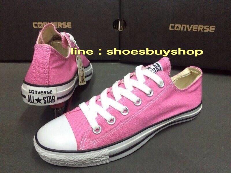 รองเท้า converse สีชมพู