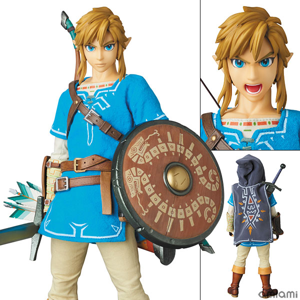 Real Action Heroes No.764 RAH The Legend of Zelda - Link (Breath of the Wild Ver.)(Pre-order)