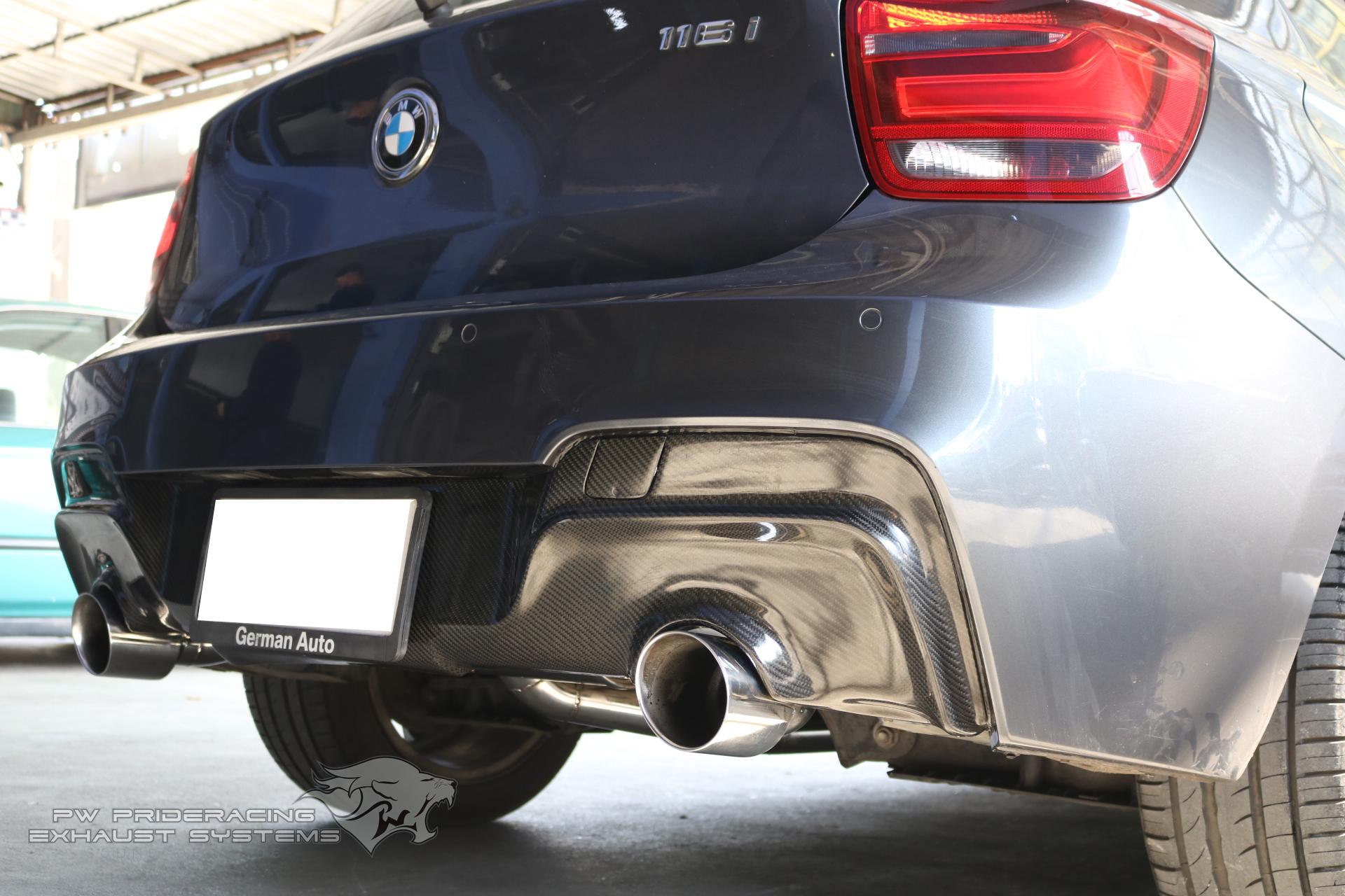 ชุดท่อไอเสีย BMW F20 116i