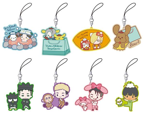 Yuri on Ice - Rubber Strap Collection: Sanrio Collaboration 2 8Pack BOX(Pre-order)