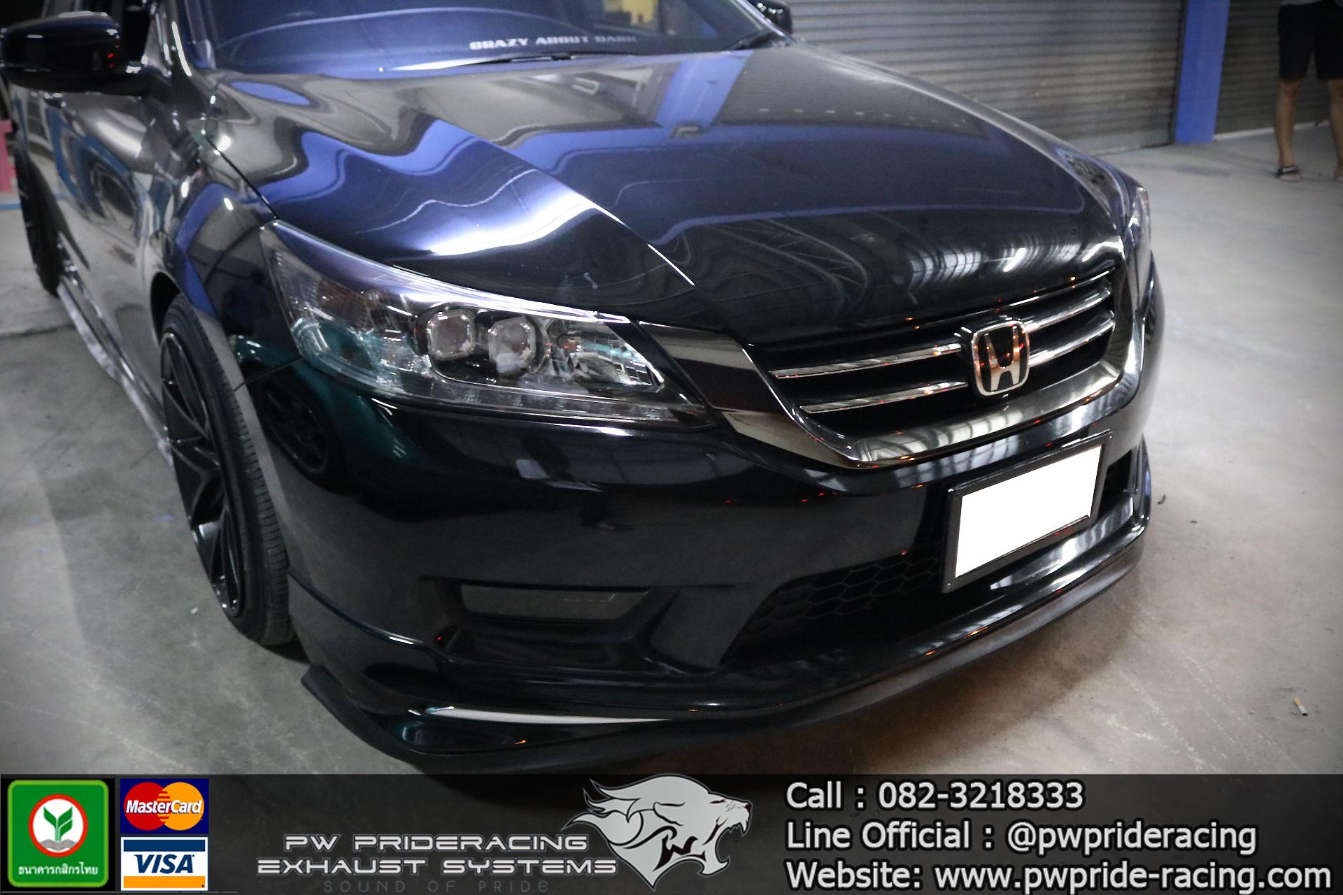 ชุดท่อไอเสีย Honda Accord G9 Valvetronic Exhaust System