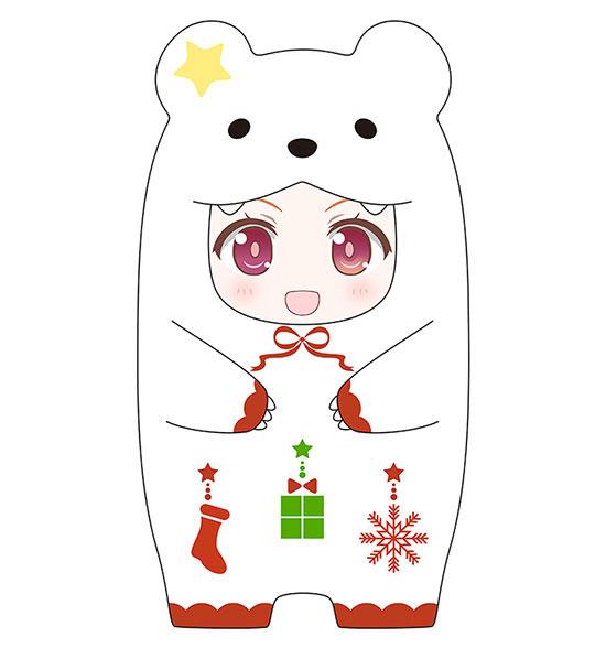 Nendoroid More - Kigurumi Face Parts Case (Christmas Polar Bear Ver.)(Pre-order)