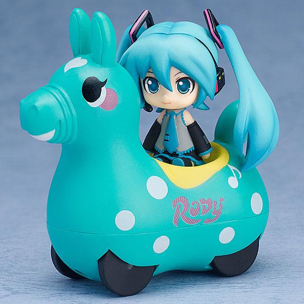 Nendoroid Plus - Hatsune Miku x CuteRody Gekisou! Pullback Car: Miku Hatsune & Cute Rody (Mint)(Pre-order)