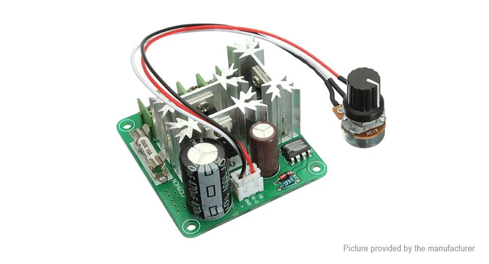 โมดูลควบคุมความเร็วมอเตอร์ Motor Speed Control PWM 6-90v 15a