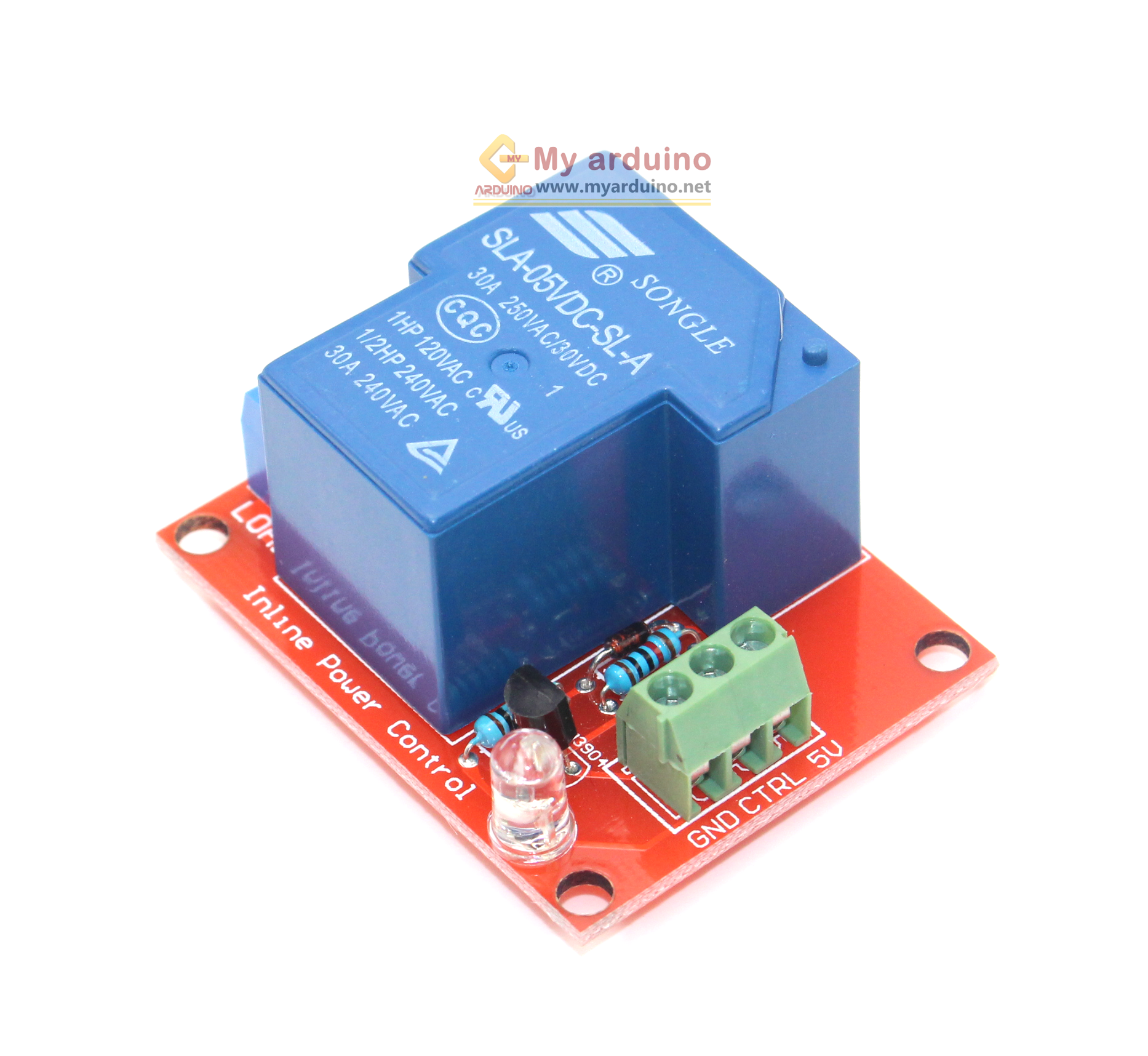 Relay Module 5V 30A 1 Channel isolation control Relay Module active HIGH