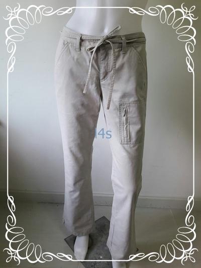 BNB1447-- กางเกงผ้า แบรนด์เนม GIORDANO KHAKIS เอว 30 นิ้ว